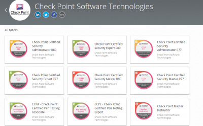 FT-CCSA-CCSE – CheckPoint Certified Security Administrator and Expert Fast Track (CCSA+CCSE) Bundle